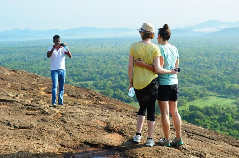 Hike To Pidurangala Rock