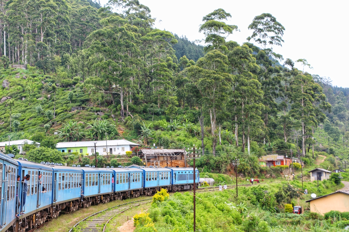 Train Sri Lanka Idalgashinna