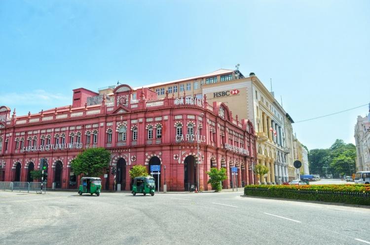 Cargills Building Colombo NatnZin