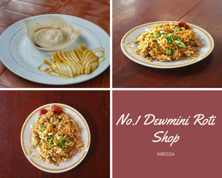 No1 Dewmini Roti Shop