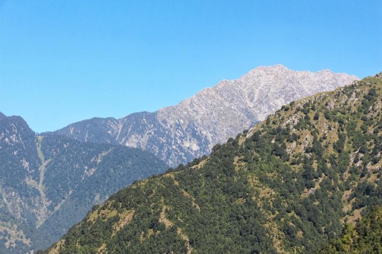 Mountains Snow Dharamkot